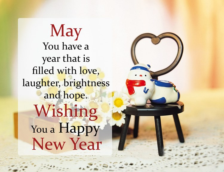 Wishing for merrier New Year