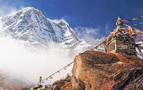 Mountain nepal summer